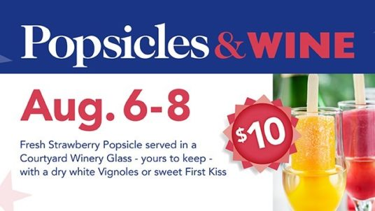 POPSICLES AND WINE AUGUST