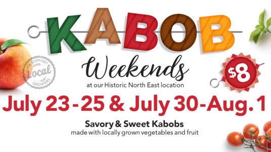 Kabob weekends event